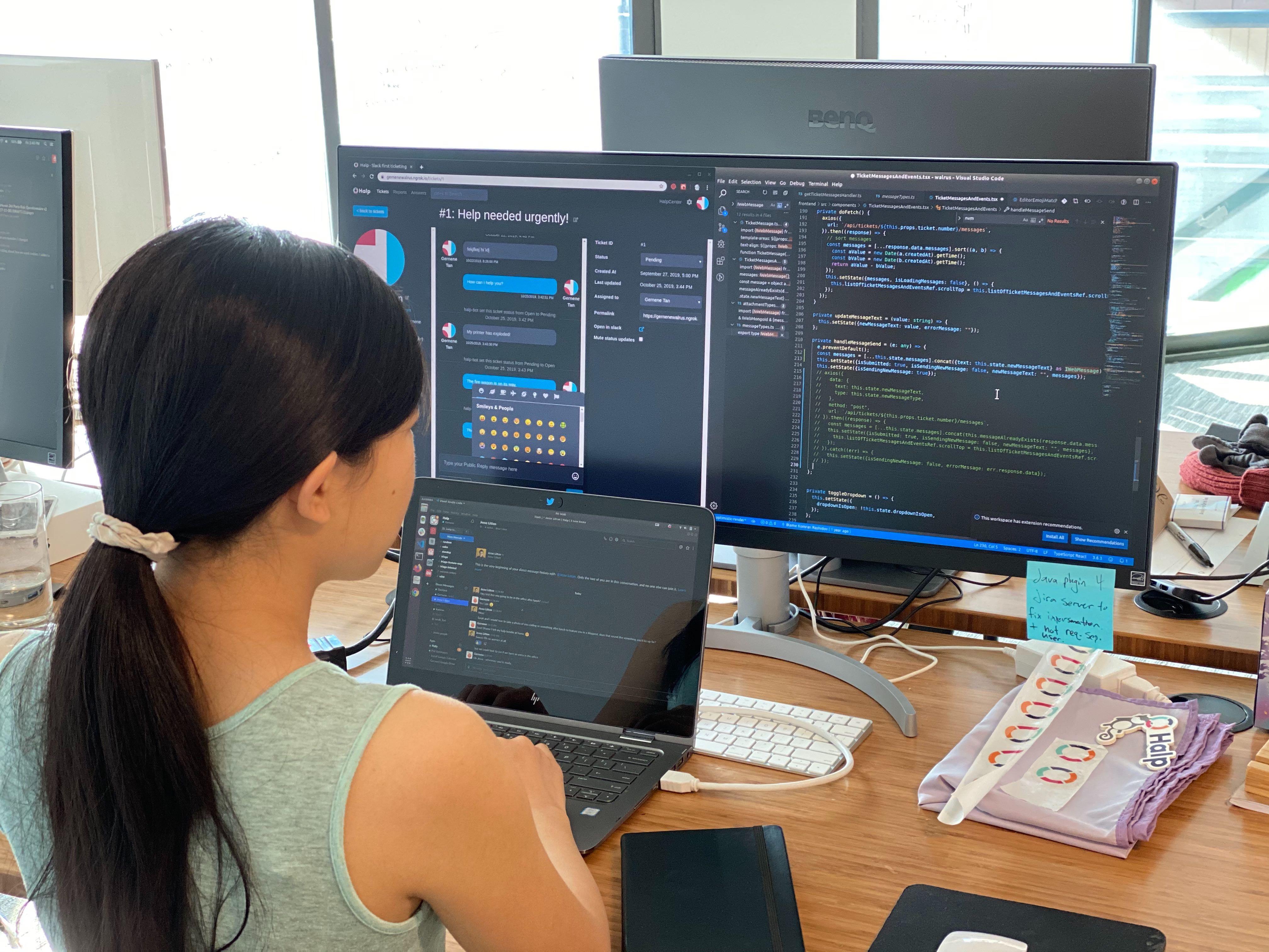 Halp Engineering Intern Gernene Tan coding