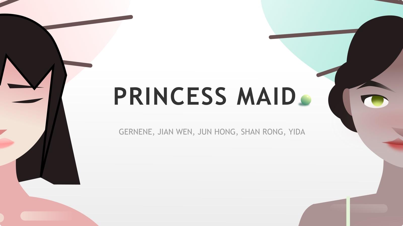 Princess Maid Title Screen